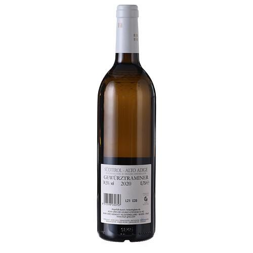 Traminer Aromatico DOC white wine Muri Gries Abbey 2020 2