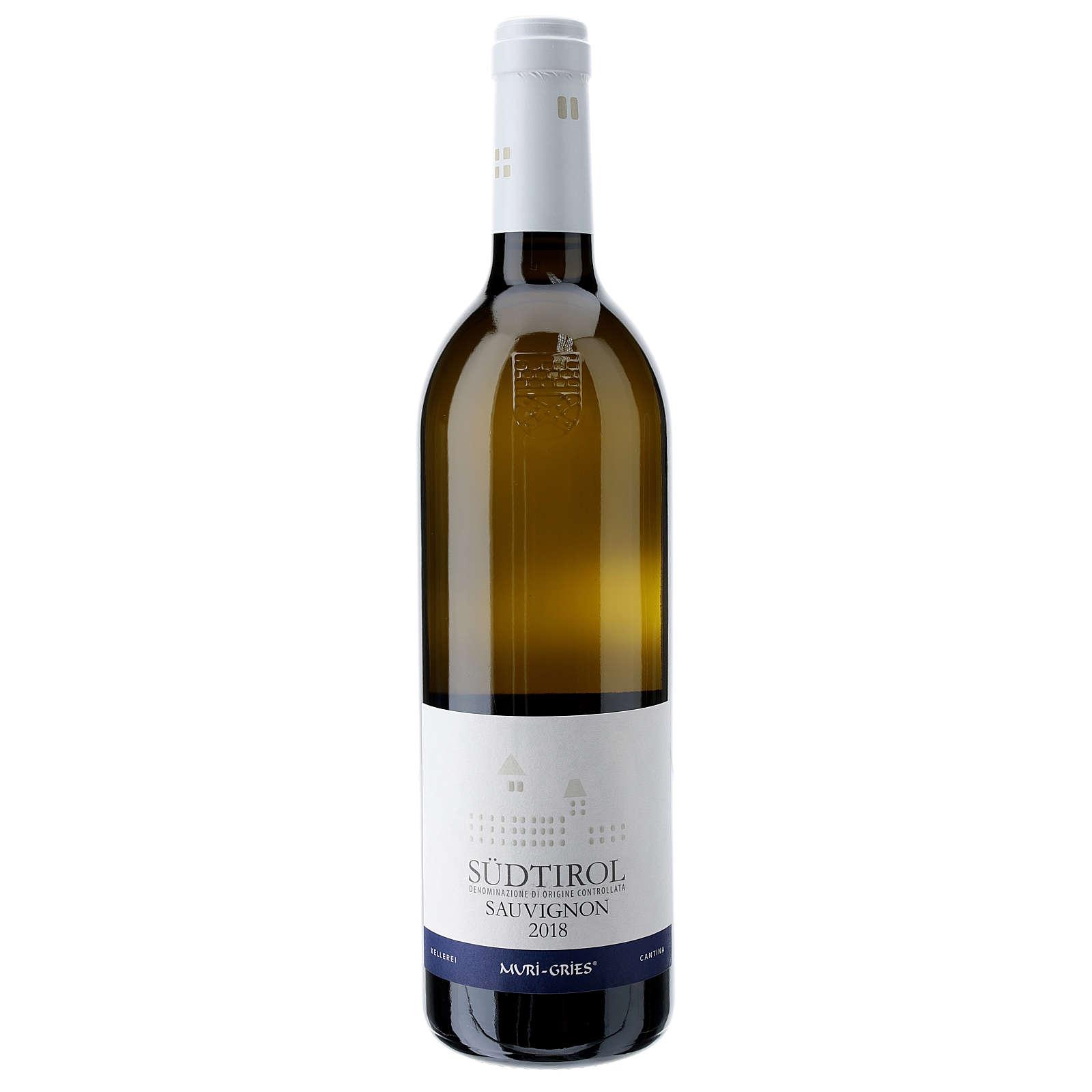 Sauvignon DOC white wine Muri Gries Abbey 2018 3