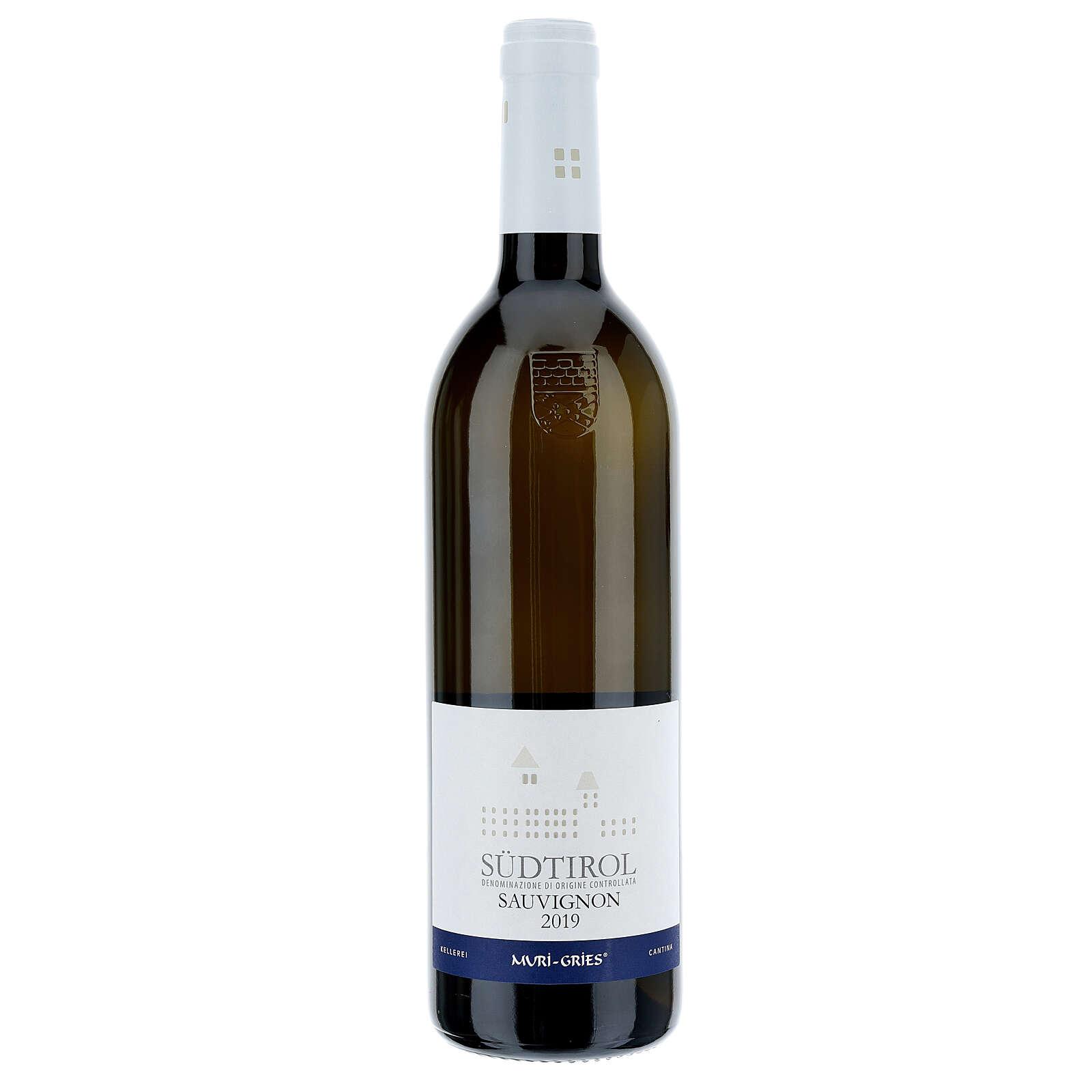 Vino Sauvignon DOC 2019 Abbazia Muri Gries 750 ml 3