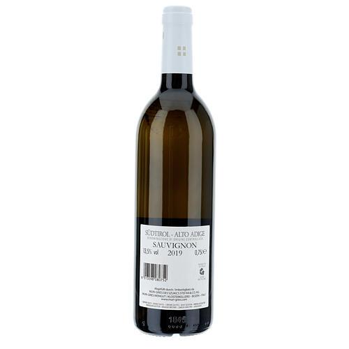 Sauvignon DOC white wine Muri Gries Abbey 2019 2