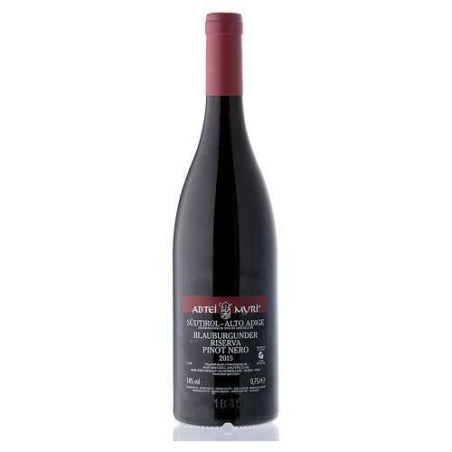Vino Pinot Nero Riserva DOC Abbazia Muri Gries 2015 2