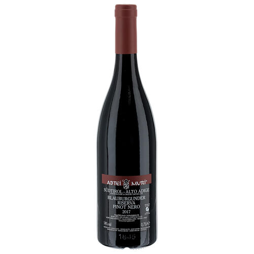 Wino Pinot Nero Riserva DOC Opactwo Muri Gries 2017 2