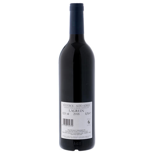 Vino Lagrein DOC 2018 Abadía Muri Gries 750 ml 2