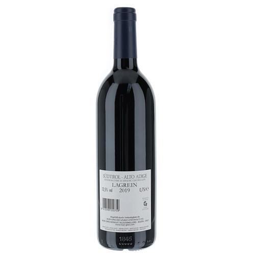 Vino Lagrein DOC 2019 Abadía Muri Gries 750 ml 2