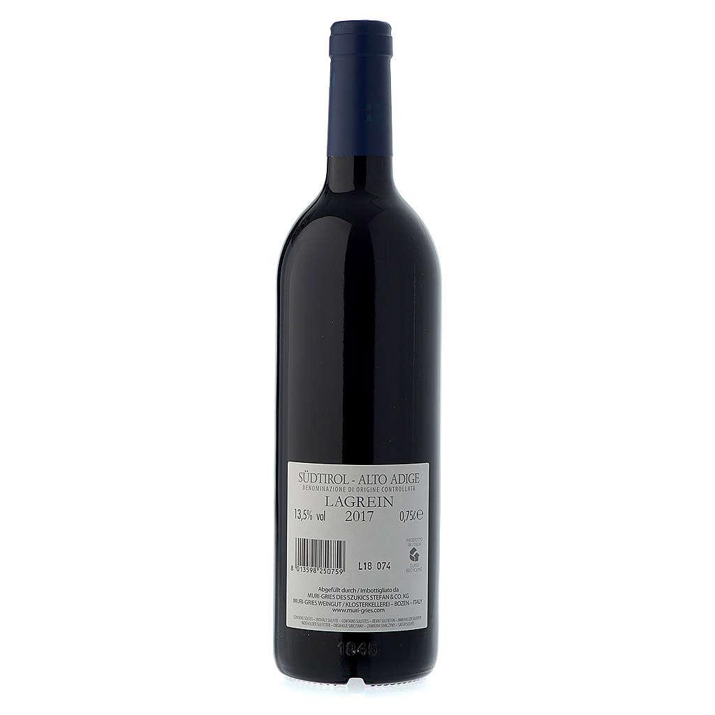 Vino Lagrein  DOC 2016 Abbazia Muri Gries 750 ml 3