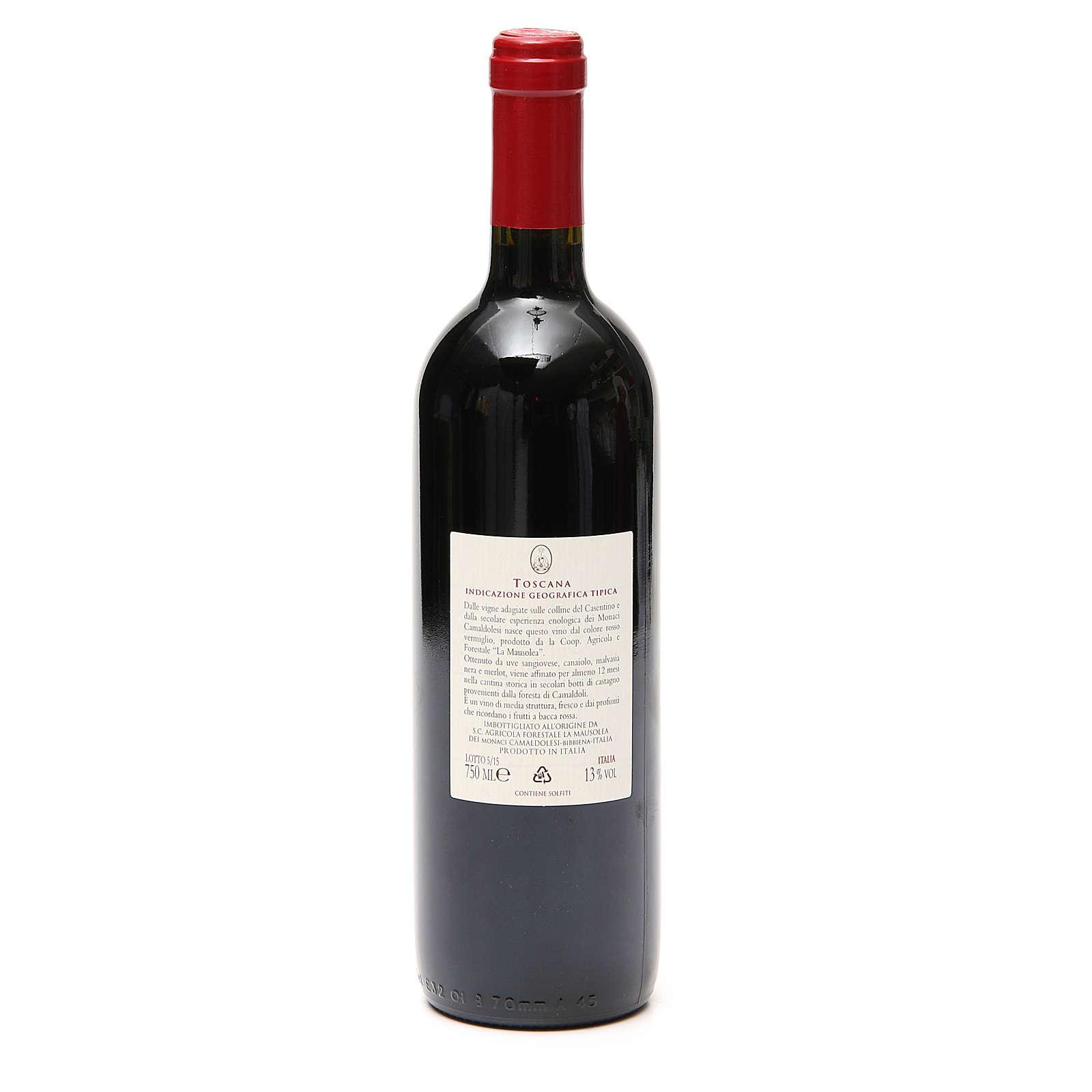 Rotwein Tuskanien Borbotto Weinlese 2012 3