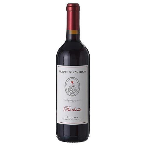 Rotwein Tuskanien Borbotto Weinlese 2018 1