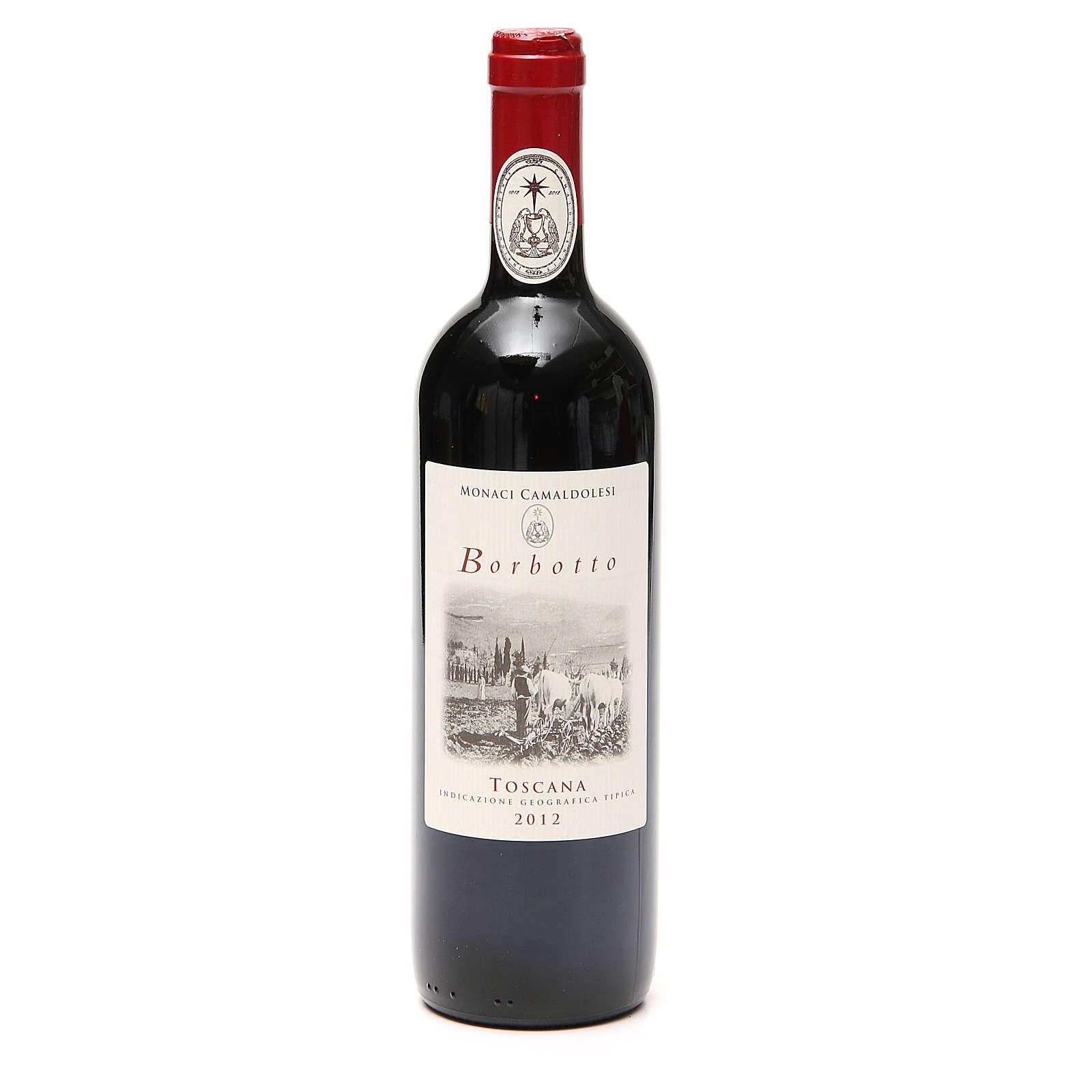 Vino rosso toscano Borbotto 750 ml 2012 3