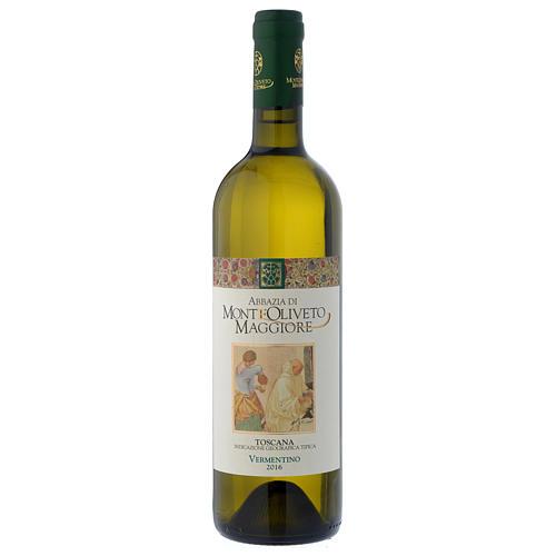 Vino Toscano Bianco 2016 Abbazia Monte Oliveto 750 ml 1