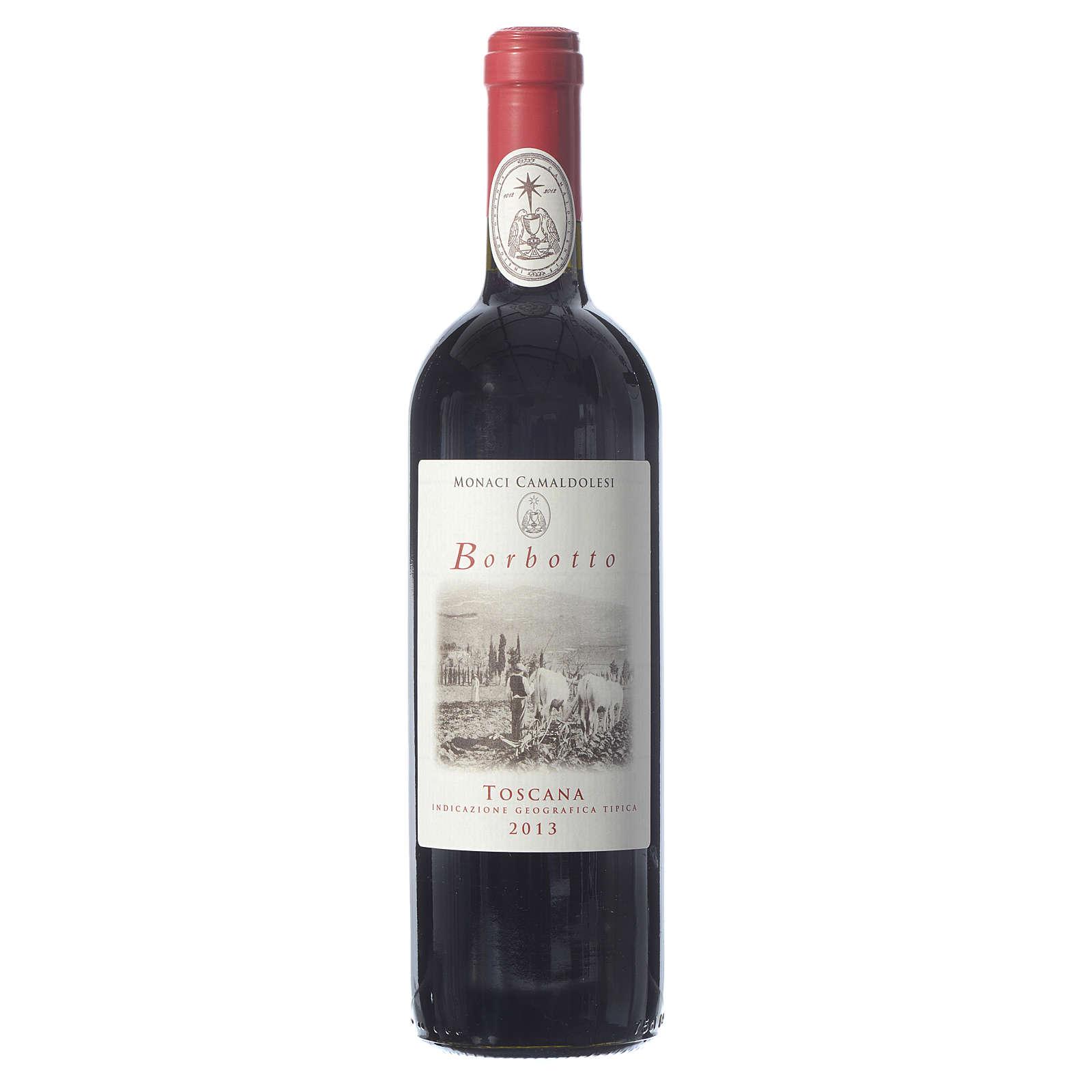 Vino tinto toscano Borbotto 750 ml 2013 3
