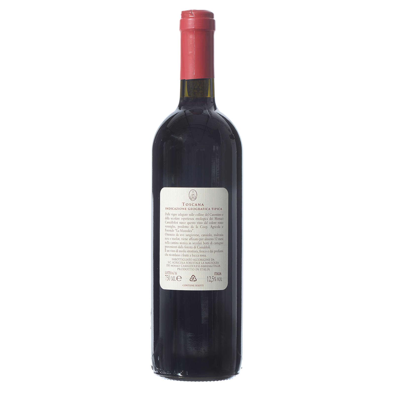 Vino rosso toscano Borbotto 750 ml. Vendemmia 2013 3