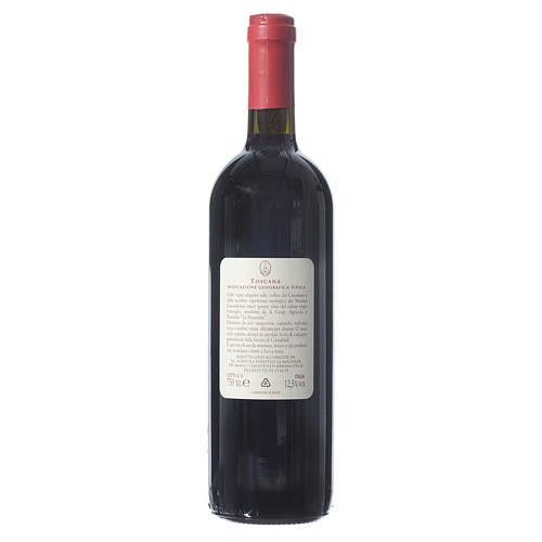 Red Tuscan wine Borbotto, 750 ml, 2013 harvest 2