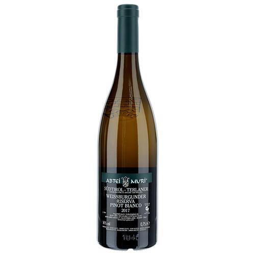 Vino Weiss blanco DOC 2017 Abadía Muri Gries 750 ml 2