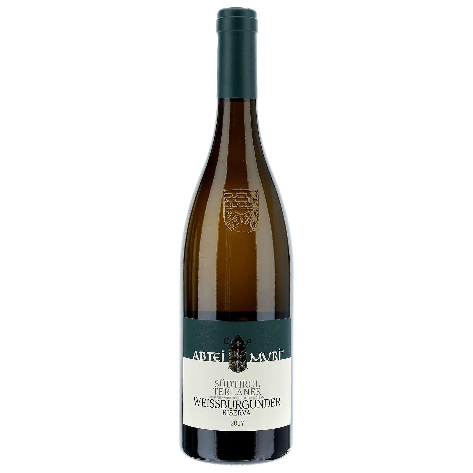 Vino Weiss bianco DOC 2017 Abbazia Muri Gries 750 ml 3