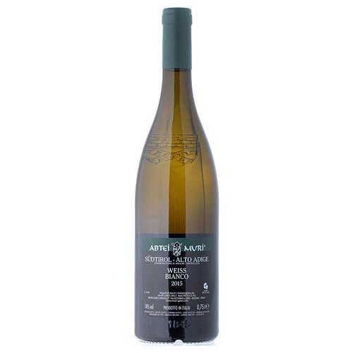 Vino Weiss bianco DOC 2015 Abbazia Muri Gries 750 ml 2