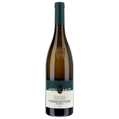 Wino Weiss białe DOC 2017 Abbazia Muri Gries 750 ml 1