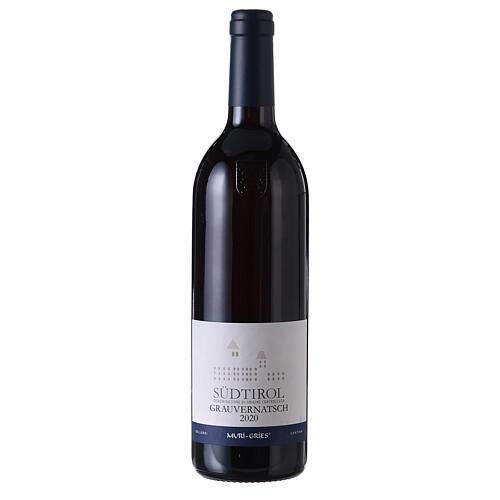 Schiava Grigia DOC wine 2020 Muri Gries abbey 750 ml 1