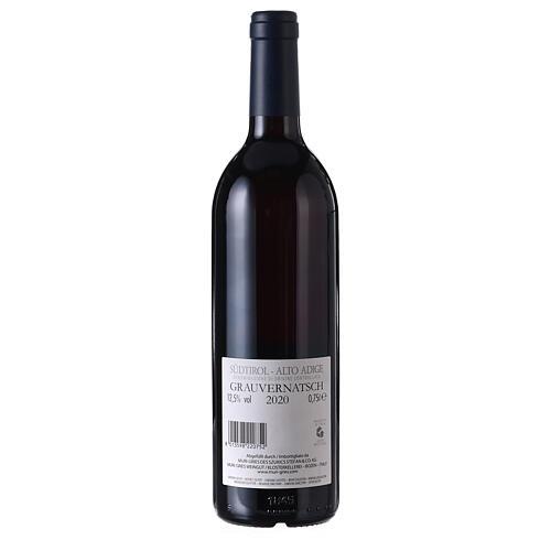 Schiava Grigia DOC wine 2020 Muri Gries abbey 750 ml 2