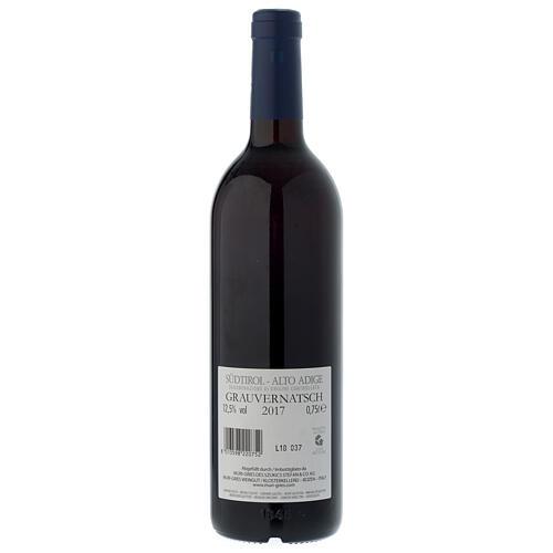 Vino Esclava Gris DOC 2017 Abadía Muri Gries 750 ml 2