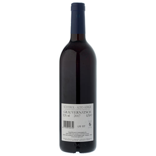 Vino Schiava Grigia  DOC 2017 Abbazia Muri Gries 750 ml 2