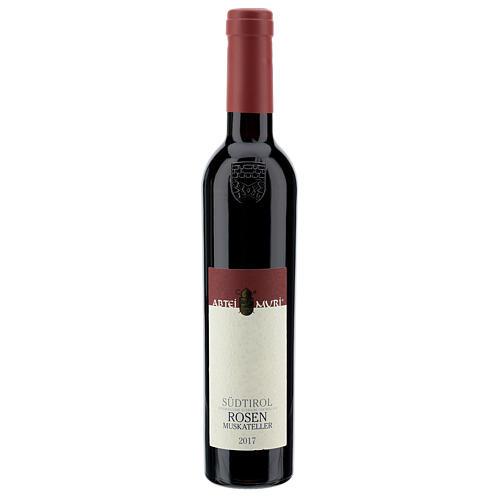Vino Moscatel rosa DOC 2017 Abadía Muri Gries 375 ml 1