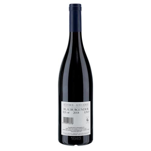 Vino Pinot Negro DOC 2018 Abadía Muri Gries 750 ml 2