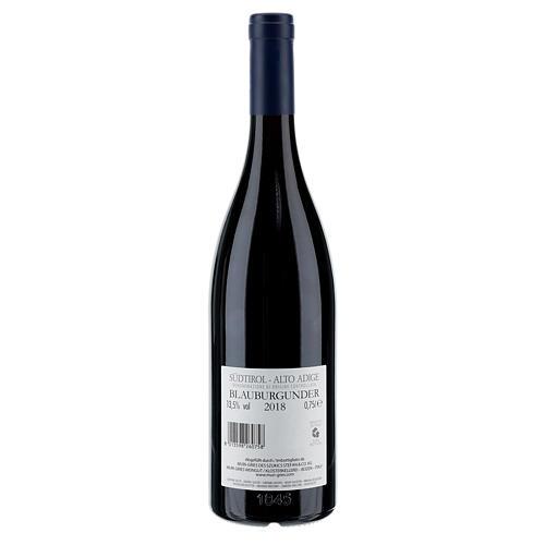 Vino Pinot Nero DOC 2018 Abbazia Muri Gries 750 ml 2