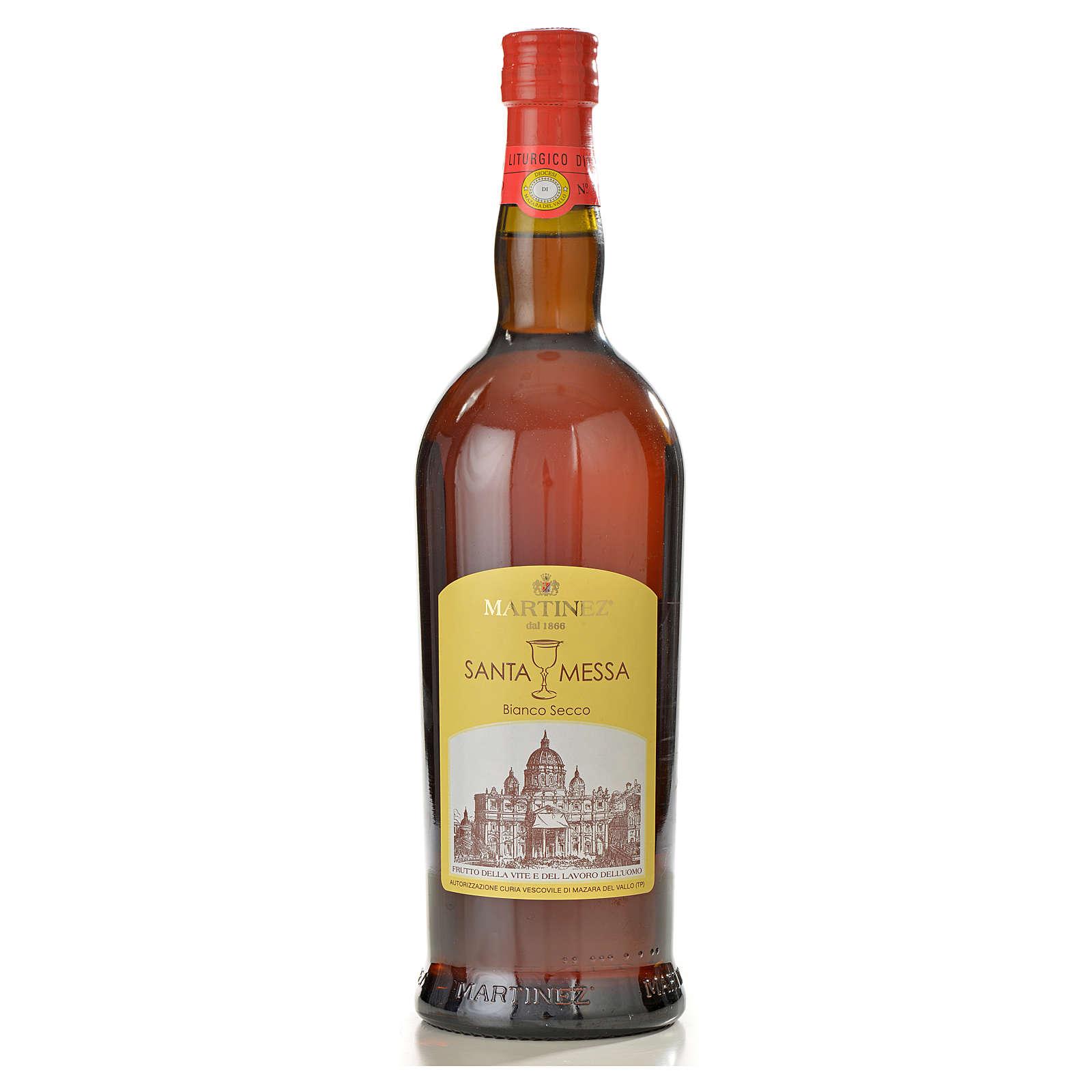 Vin de messe blanc sec Martinez 3