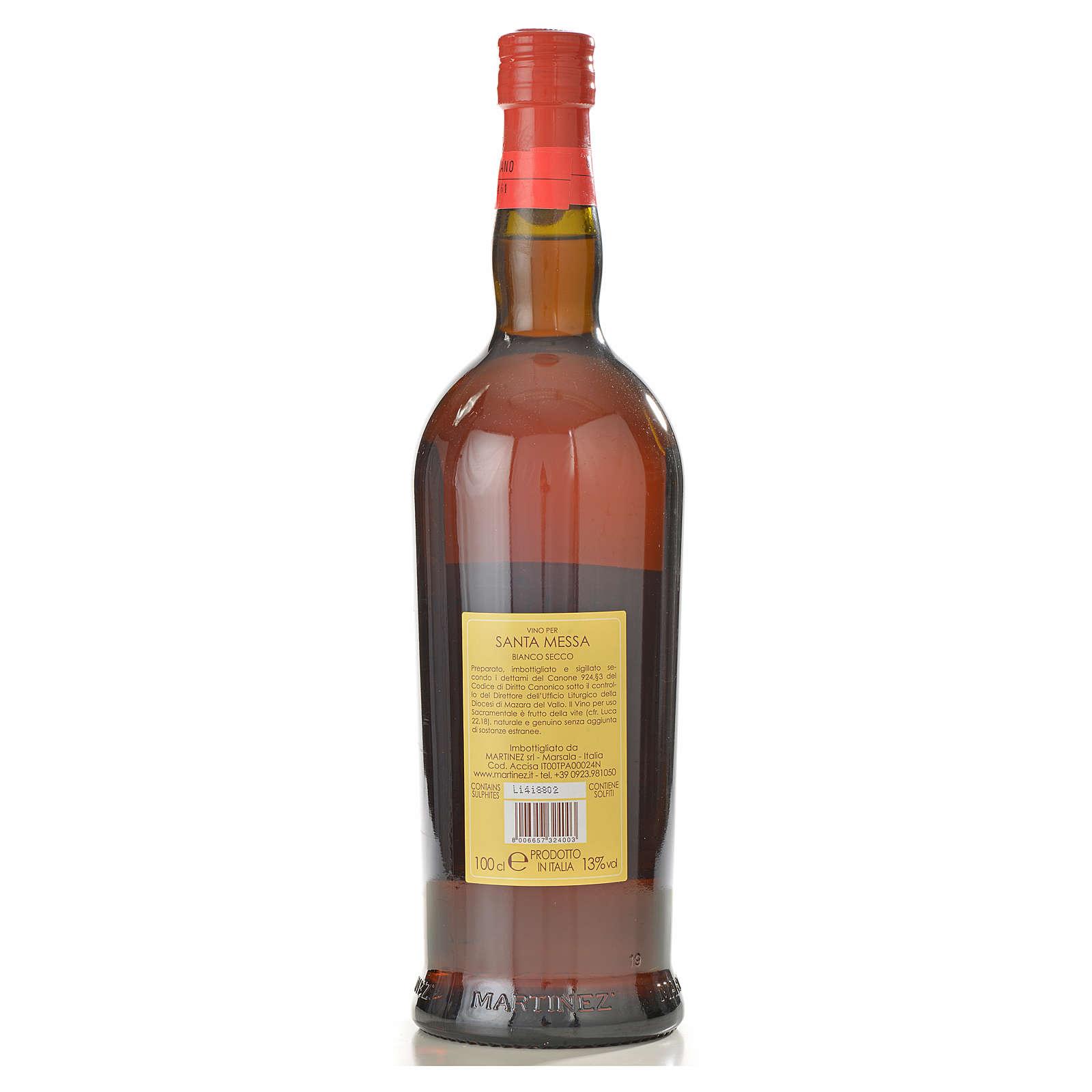 Wino mszalne białe wytrawne Martinez 3
