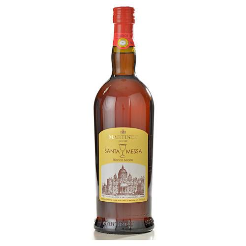 Wino mszalne białe wytrawne Martinez 1