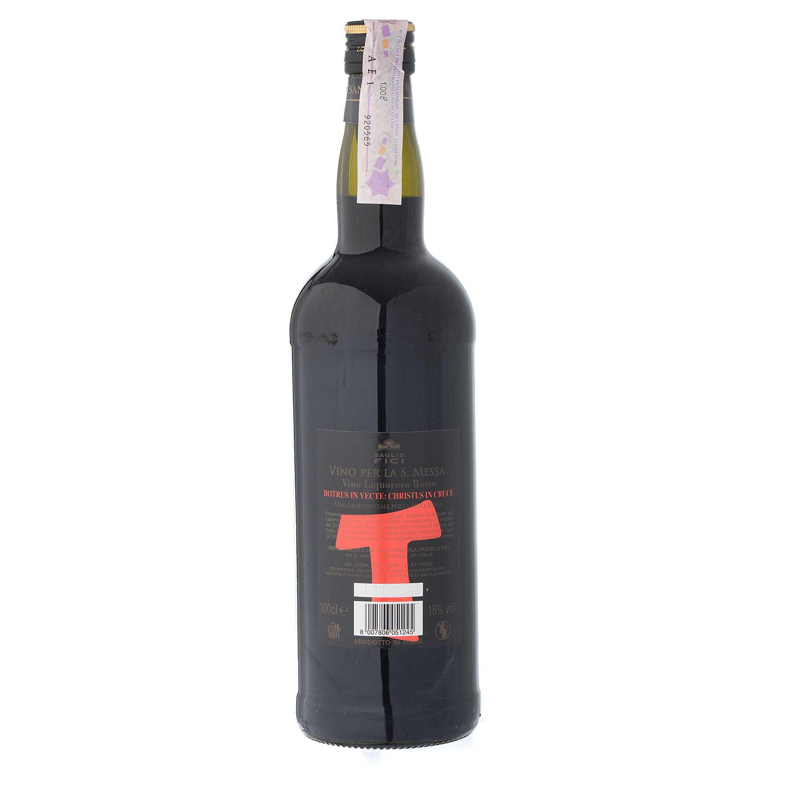 Vin de Messe Marsala Sicile liquoreux rouge 3