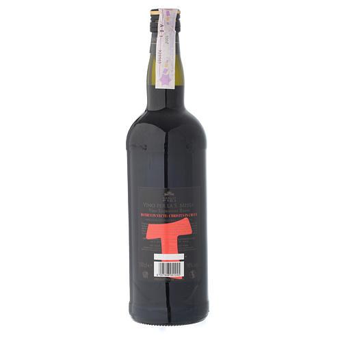 Vinho de Missa Marsala Sicília licoroso tinto 2