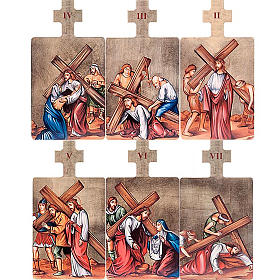 Way of the Cross in wood, 15 stations s4