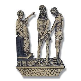 Stazioni Via Crucis 15 quadri bronzo s1