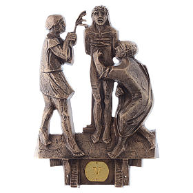 Stations of the Cross in bronze, 14 stations s5