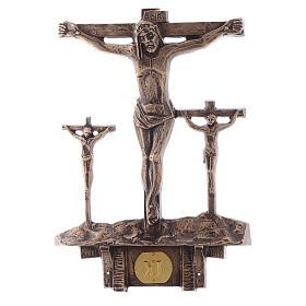 Cuadros estaciones Vía Crucis 14 piezas bronce s11
