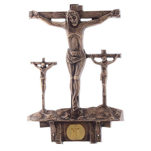 Stazioni Via Crucis 14 quadri bronzo 11