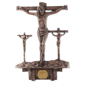 Stations of the Cross in bronze, 14 stations s11