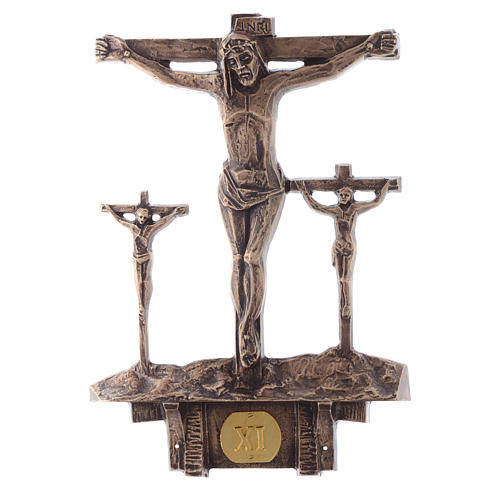 Stations of the Cross in bronze, 14 stations 11