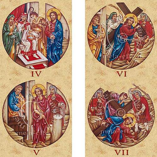 Stampa Via Crucis 15 stazioni 3