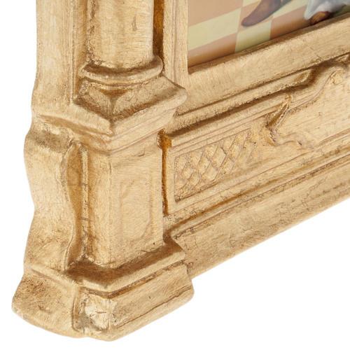 Vía crucis altar madera XV estaciones 7