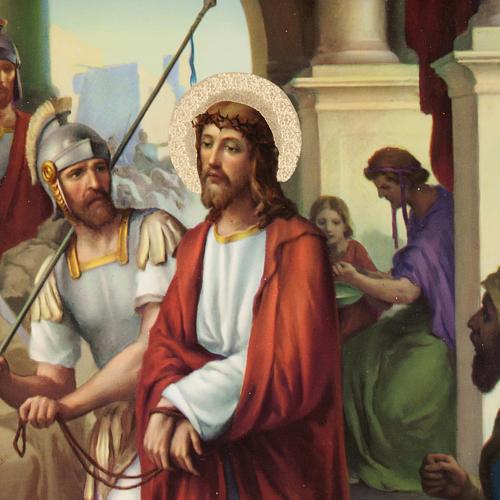 Via Crucis altarini in legno XV stazioni 2