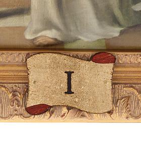 Via Crucis quadri legno tipo pittura 15 stazioni s5