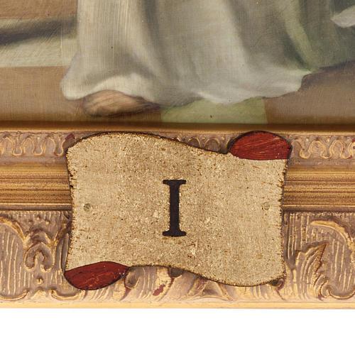 Via Crucis quadri legno tipo pittura 15 stazioni 5