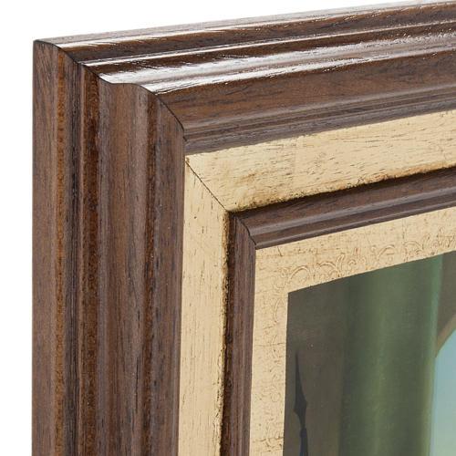Cuadros Via Crucis madera similar pintura 15 estaciones 6