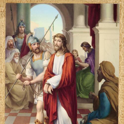 Via Crucis altar de madera XV estaciones 2