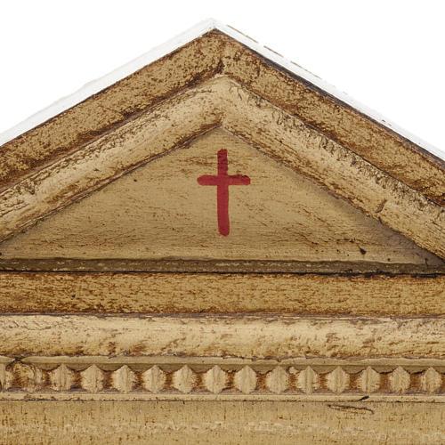 Via Crucis altarini legno XV stazioni 3