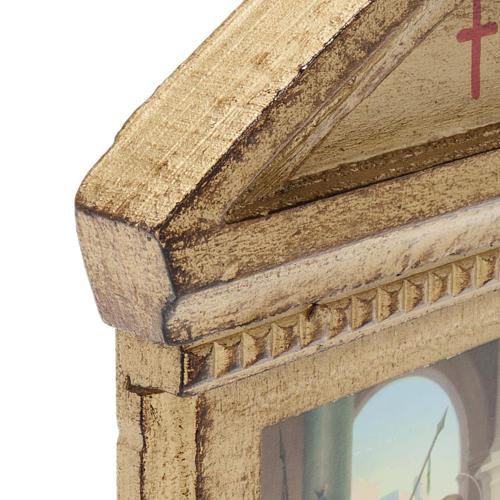 Via Crucis altarini legno XV stazioni 5