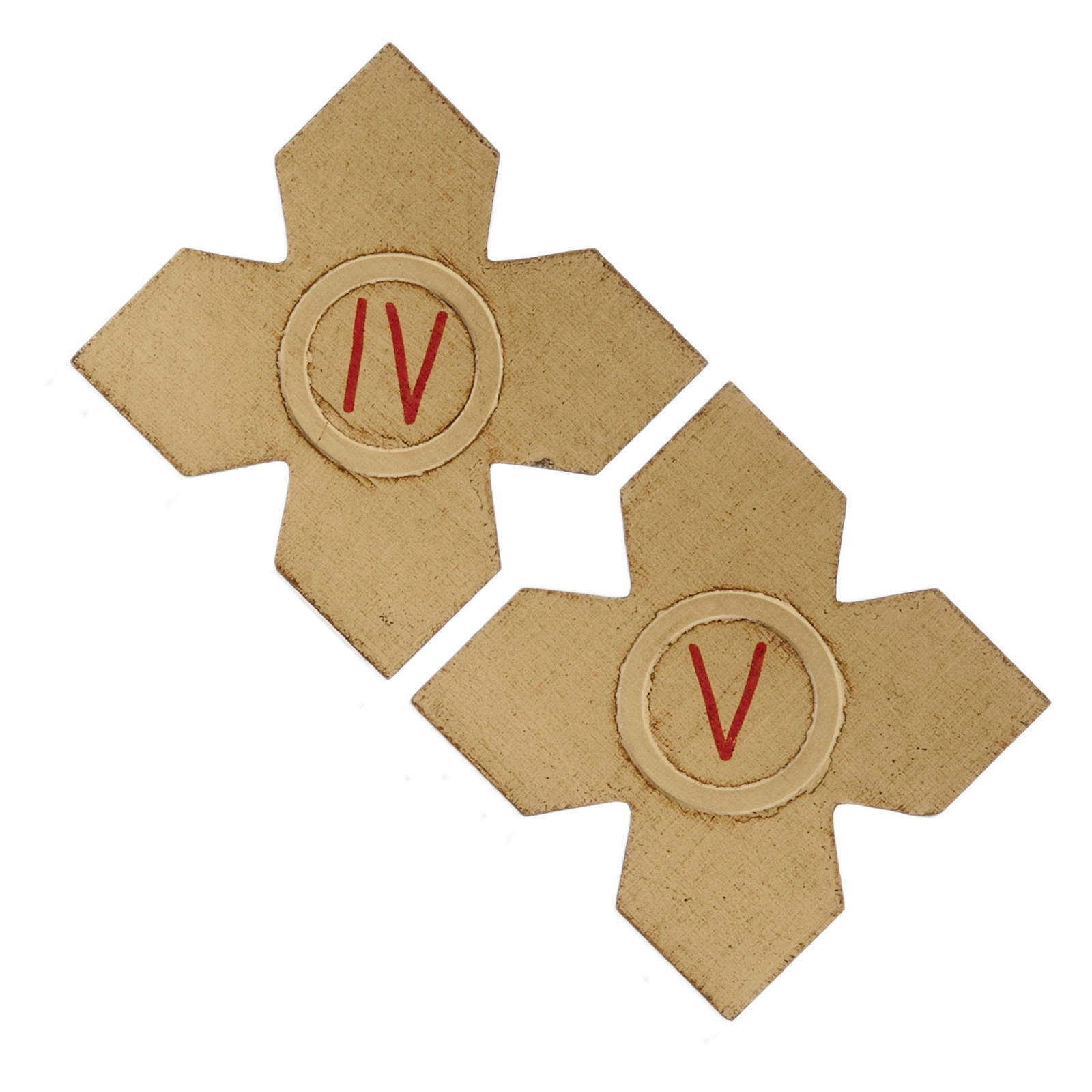 Crosses with numerals for Stations of the Cross 15 pcs 4