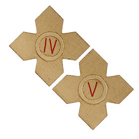 Crosses with numerals for Stations of the Cross 15 pcs s4